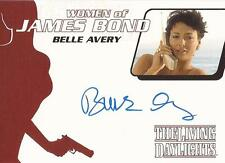 "James Bond Archives 2014 - WA39 Bell Avery ""Linda"" Auto / Autograph Card"