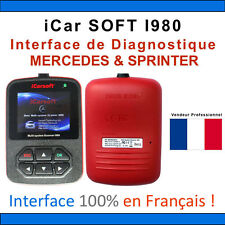 Valise Diagnostique MERCEDES & SPRINTER - iCarSOFT I980 - STAR C3 / C4