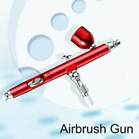 0.3mm Dual Action Spray Airbrush Gun Gravity Feed Nail Art Paint Tattoo Craft