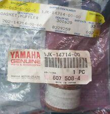 NEW GENUINE YAMAHA 1JK-14714-00 Muffler Gasket 1978-1991 Big Bear, MOTO-4, Maxim