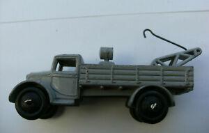 Dinky Meccano Die Cast Model Vehicle 30e Grey Breakdown Truck (Shop Ref D021)