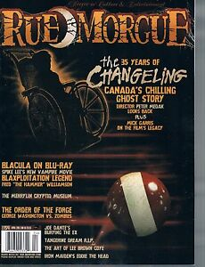 Rue Morgue #154 Apr 2015 The Changeling Blacula Order of the Forge Joe Dante