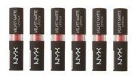 NYX Velvet Matte Lipstick, VMLS10 Effervescent (Pack of 6)