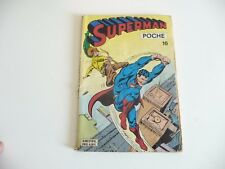 SEP8 ---- SAGEDITION   SUPERMAN  Poche    N° 16