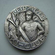 Lipsia Ski-Club distintivo membro per 1910, Argento 800