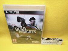 Dead To Rights. Retribution - Playstation 3 (PS3) - PRECINTADO