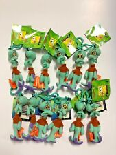 """** Lots of 12 ** Squidward 5"""" Plush Key-Chain Clip-On BRAND NEW"""