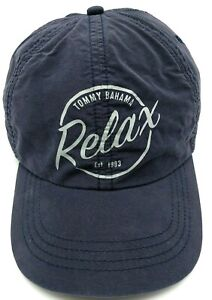 """TOMMY BAHAMA hat blue adjustable cap """"Relax"""""""