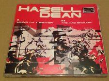 Hazell Dean - Living On A Prayer UK Cd Single Ultra Rare! 1999 Hi NRG Bon Jovi