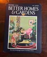 Rare Vintage Holiday Christmas Better Homes & Gardens Metal Tin Box Container