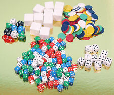 Dice and Counters Pack - Great Learning and Teaching Aid - Ref: 00555