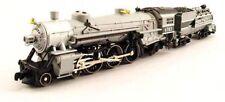 Model Power 87435, N Scale, 4-6-2 Union Pacific Grey Goose, w/ Vandy Coal Tender