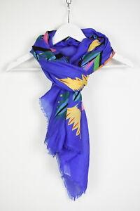 DESIGUAL FOULARD LIANA REC Women's One size Floral Prints Frayed Scarf 11975 mm