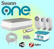 Swann SWO-AST01K-UK SwannOne Alarm/CCTV Starter Kit, Built-In Microphone, White