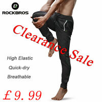 RockBros Mens Sport Bike Cycling Summer Pants Breathable Fitness Trousers
