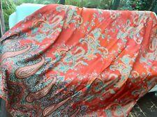 Bassetti Satin Bettgarnitur Lissus O6 orange 200x200 K2x60x60cm Bettwäsche Set