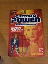 Vtg Captain Power Soldiers Of Future CORPORAL PILOT CHASE 1987 Mattel MOC!!!