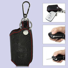 Leather Remote Key Chain Holder Case Fob fit for TOYOTA Camry/Highlander/Land