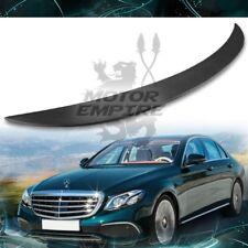 Matte REAL Carbon Fiber Rear Spoiler For 2017-18 Mercedes E250 E300 E400 W213