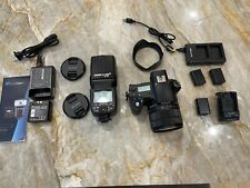 Sony Cyber-Shot RX10 IV Digital Camera with External Flash, 3 batteries