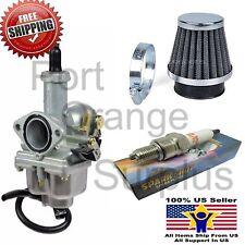 Carburetor & Air Filter Spark Plug Gas Filter Honda XR100 XR100R CRF100F Carb