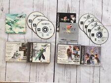PlayStation - PS1 - Final Fantasy VII and Final Fantasy VIII