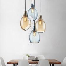 Glass Pendant Light Kitchen Lamp Bar Chandelier Lighting Bedroom Ceiling Light