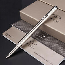 Silver Metal Parker Vector Rollerball Pen 0.5mm nib Full metal Roller Ball Pen