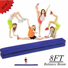 Gym Floor Balance Beam Folding 8ft Skill Training Practice Kids Foam Folding Bp