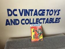 Vintage 1986 StarCom Coleco COL. PAUL CORBIN Case Fresh Unpunched Look!