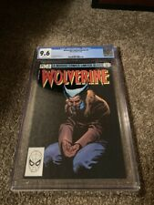 WOLVERINE #3 CGC 9.6 WHITE PAGES LIMITED SERIES FRANK MILLER- 1ST SOLO WOLVERINE