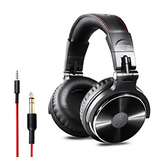 OneOdio Over Ear Headphone Studio Wired Bass Headsets with 50mm Driver, Foldable