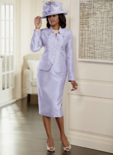 size 10 Highland Lavender Skirt Church Suit by Ashro new