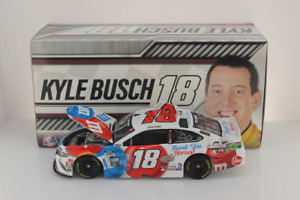 KYLE BUSCH, BRAND NEW 1/24 ACTION  2020, #18, M&M'S, THANK YOU HEROES