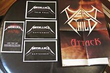 Metallica 4 Poster Lot + Bonus P865