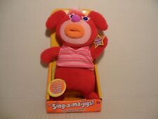 Mattel The Sing-A-Ma-Jigs - New Red