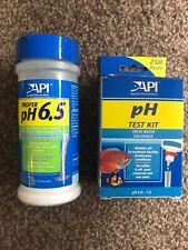 Bundle: Fish Tank Aquarium pH Test Kit & Conditioner 6.5