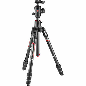 Manfrotto Befree GT XPRO MKBFRC4GTXP-BH Travel Carbon Tripod with 496 Ball Head