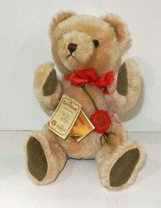"Vintage 1990s 12"" Ltd 619/4000 Hermann Mohair No No Teddy Bear & Tags W Germany"