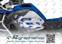 KIT 2 ADESIVI LATERALI GS CAMOUFLAGE MOTO BMW R1200GS ADV 14-18 STGSR1200ADVCRB