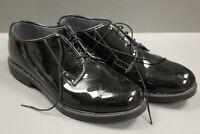 Military Issued Bates Black Shiny Dress Shoes, Various Sizes