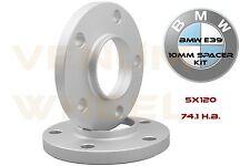 2Pc BMW E39 Hub Centric Wheel Spacers 74.1 H.B 5x120 Fits 525i 528i 530i 540i M5