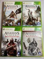 Assassin's Creed 3 Black Flag Brotherhood Revelations Xbox 360