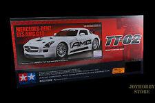 Tamiya 58566 1/10 Mercedes-Benz SLS GT3 AMG - TT02 w/ESC