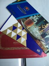 Three Cigarette Boxes/Sleeves, Cambridge, Dunhill, John Player