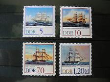 500 Jahre Schiffercompagnie Stralsund -POSTF.  1988DDR - MICHEL  3198-3201 (250)