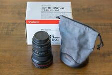 Canon EF 16-35mm f/2.8L II Wide Angle Lens | Excellent Condition