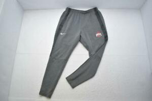 Nike Tapered Sweat Pants Cotton Blend Ohio State Buckeyes w/ Pockets Mens Medium