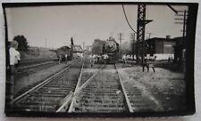 Lawrence MA Engine House Railroad Enthusiasts Boston&Maine Excursion 1952 photo