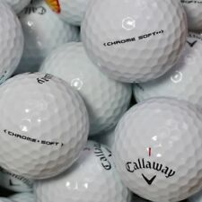50 Golf Balls Callaway Chrome soft AAA/AAAA Quality Chromesoft 2x 25 lakeballs